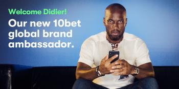 10bet brand ambassador didier drogba